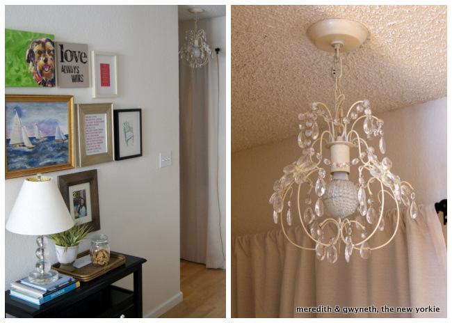 Pottery Barn Olivia Chandelier