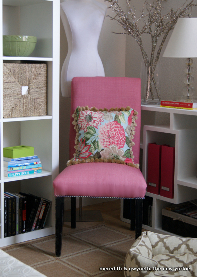 DIY Upholstered Slipper Chair